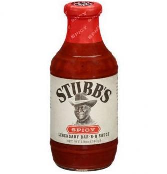 Соус барбекю Stubbs Spicy 510г бутылка/стекло SB